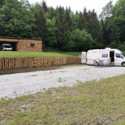 Počivališče za avtodome - Kmetija Čož2